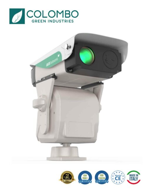 Laser automatizzato per allontanamento volatili