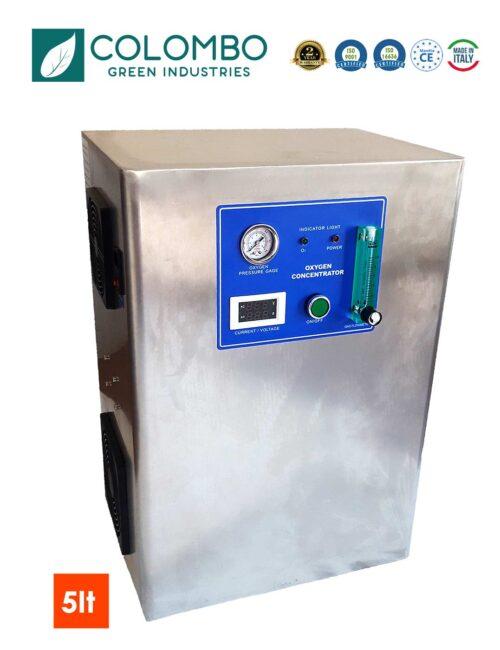 Concentratore Ossigeno per generatore ozono