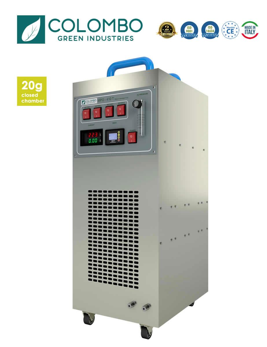 Generatore Ozono 20G Camera chiusa professionale