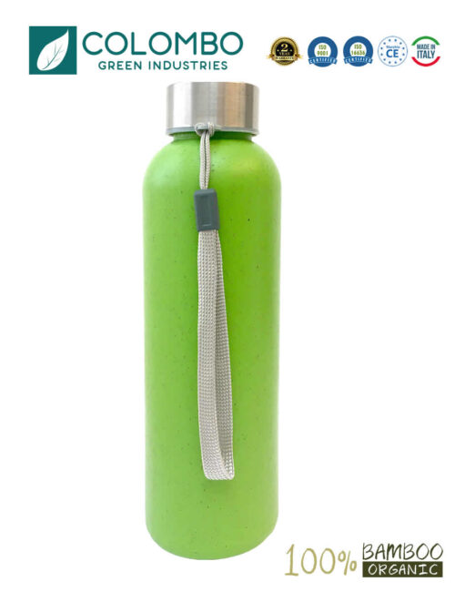 Borraccia Bambù bamboo biologica 500ml BPA free