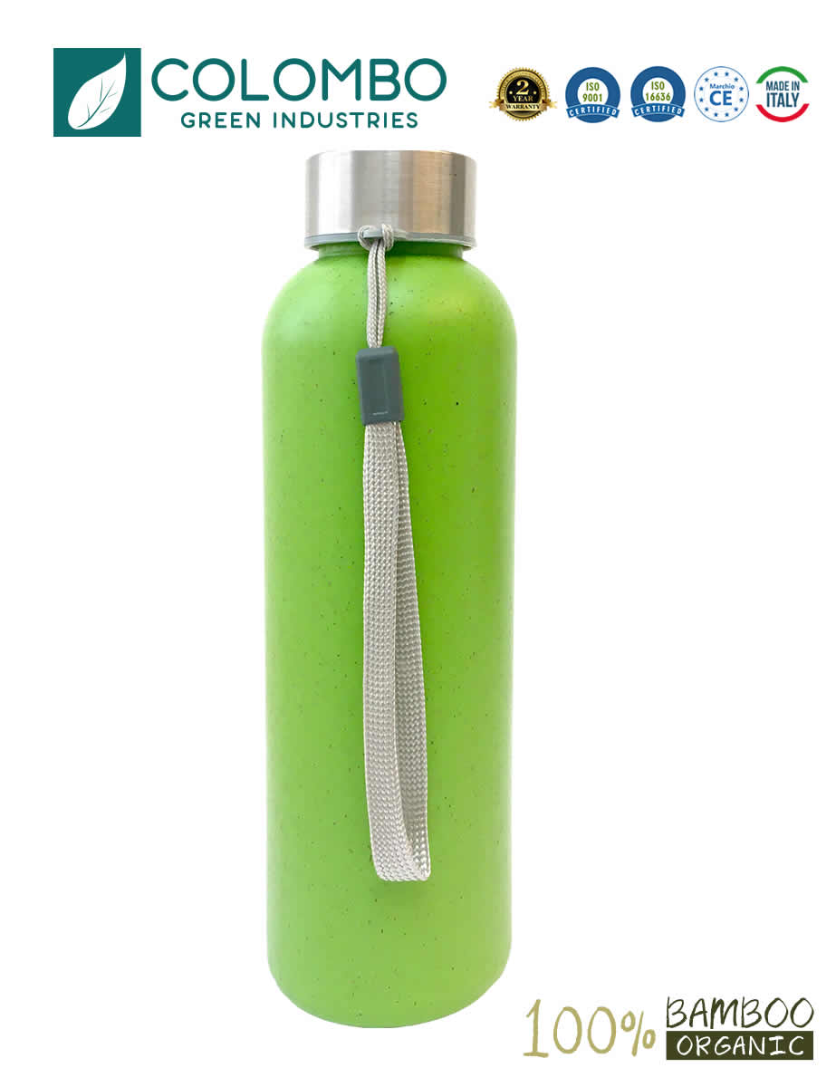 Borraccia Bambù bamboo biologica 500ml BPA free