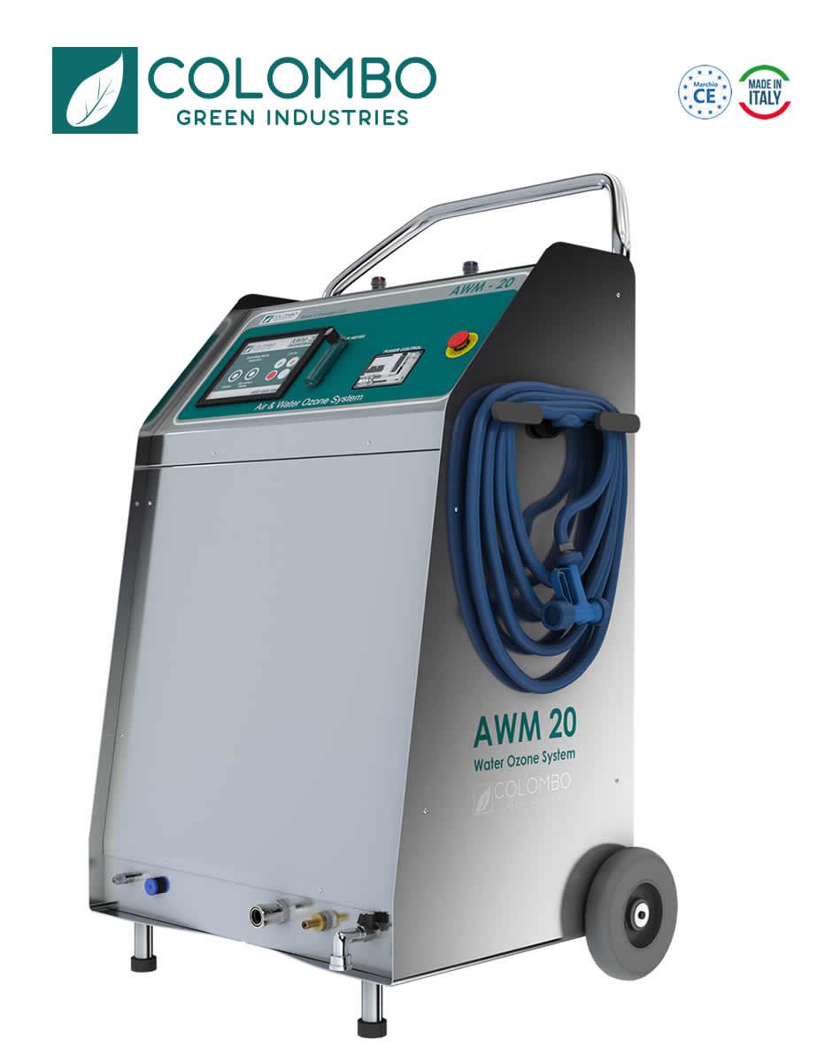 Macchina per sanificazione industriale Aria e Acqua AWM-20 Ozone System