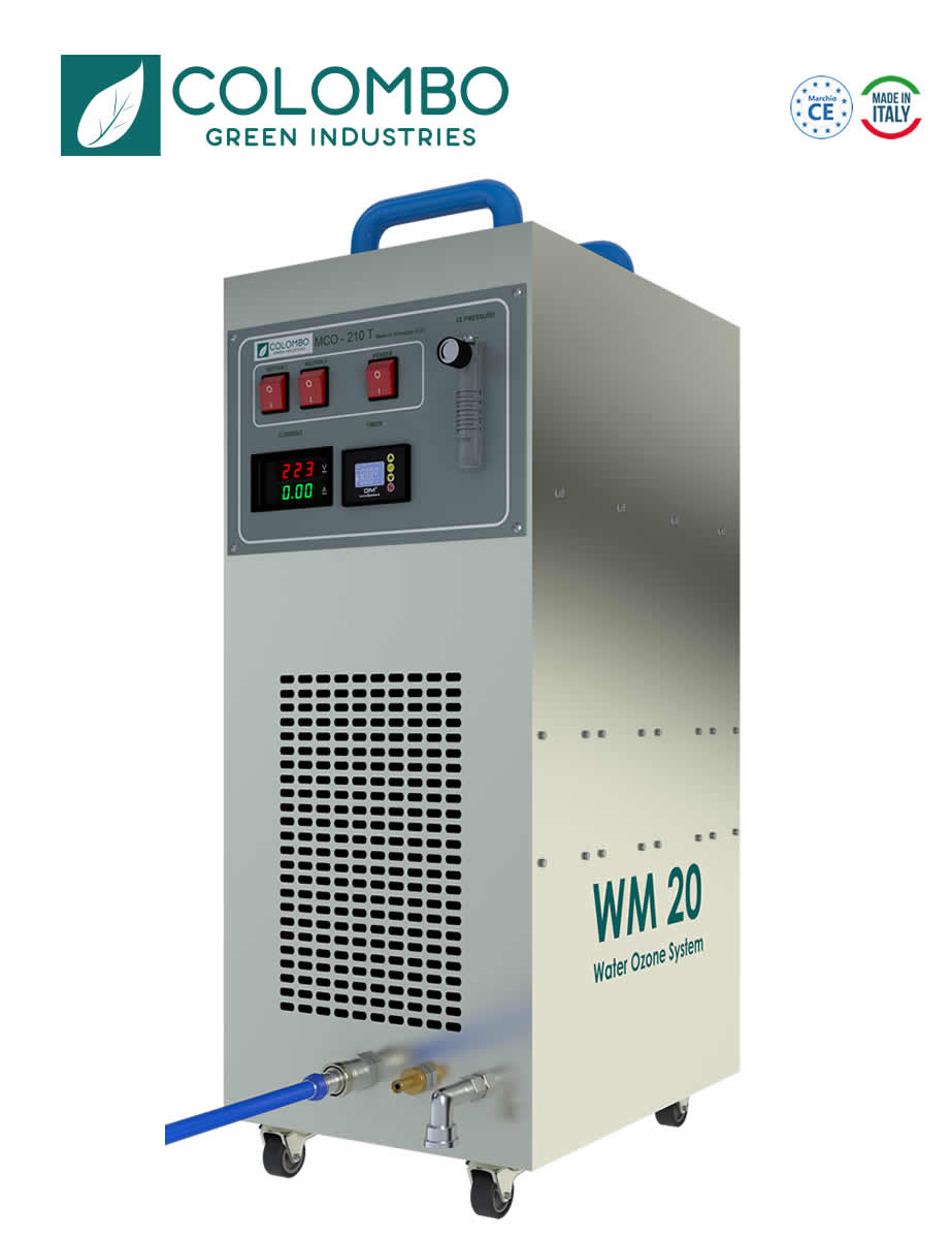 Macchina Generatore Ozono Erogazione Acqua Ozonizzata WM20